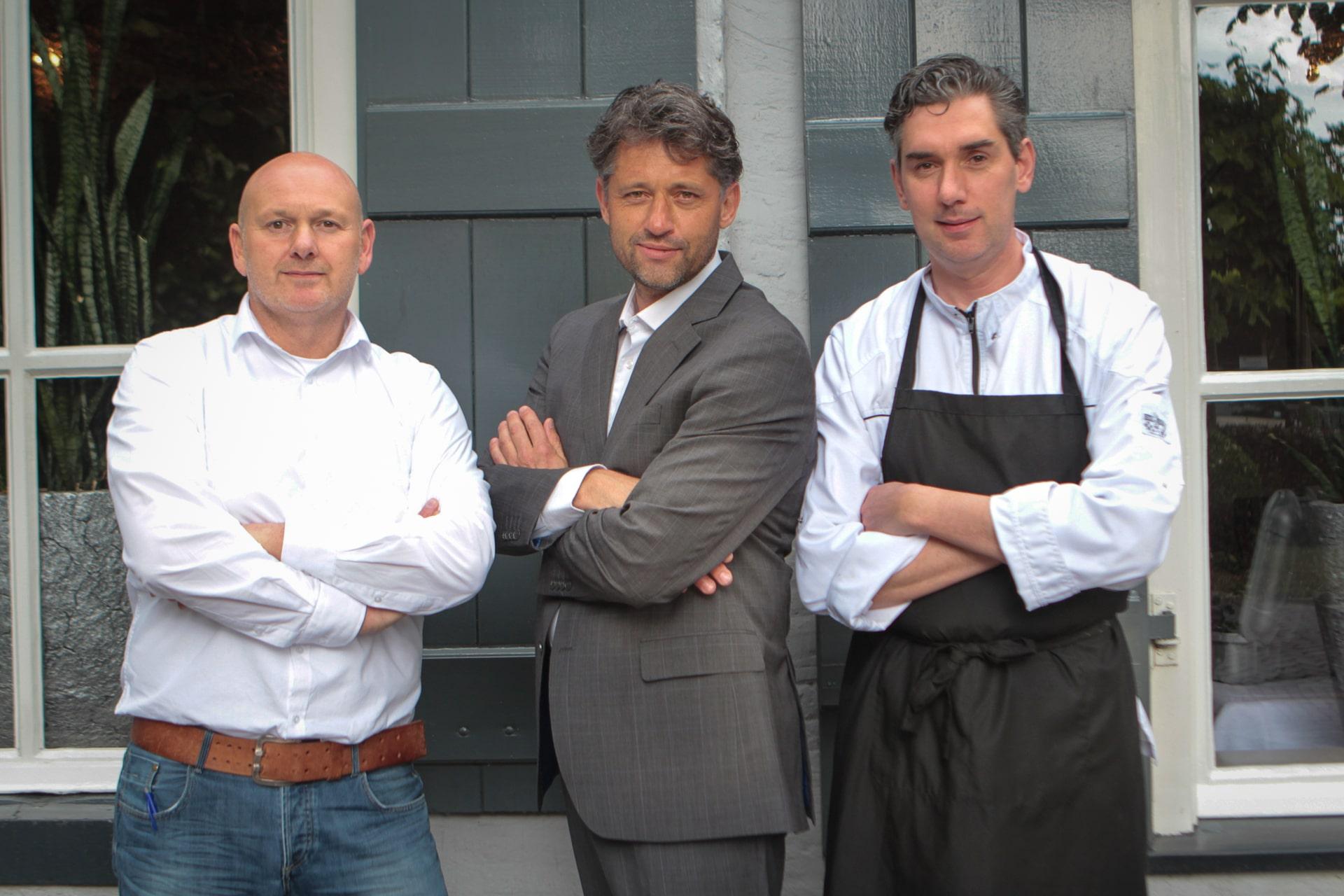 Michel Dijkstra Michael Greven Janpaul Kant restaurantvoor1dag